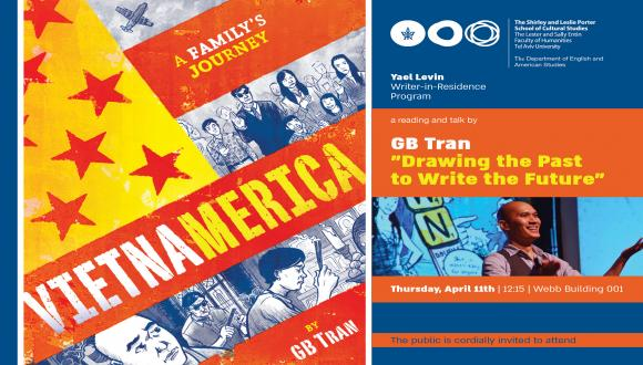 The Yael Levin Writer-in-Residence program hosting Vietnamese-American graphic artist and writer GB Tran
